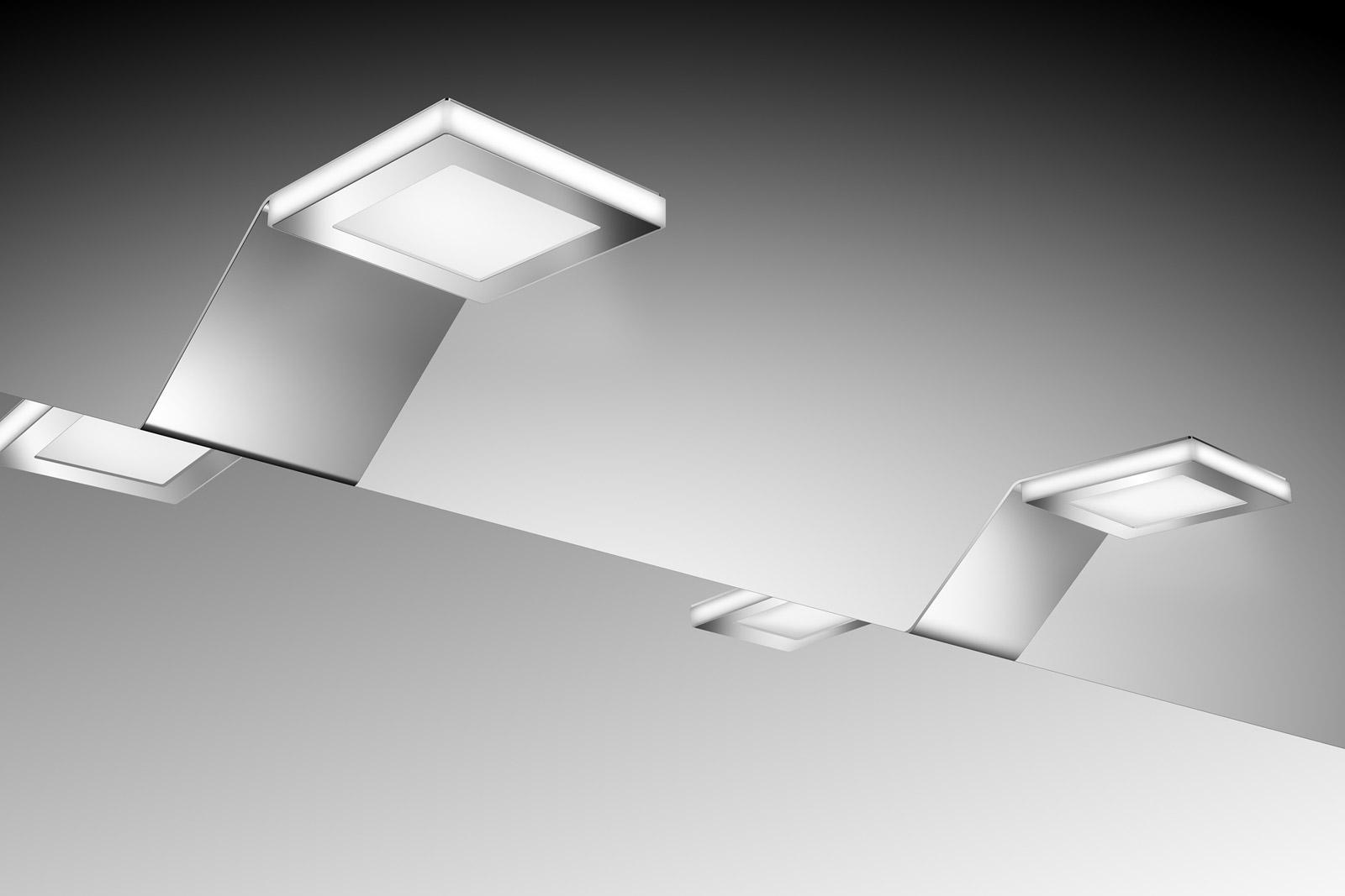 Badezimmer Spiegelschrank Beleuchtung LED 20er Set